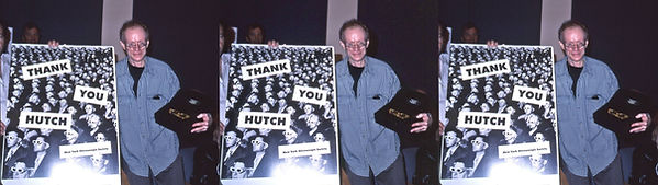 2000 Hutch receiving NYSS Founders award