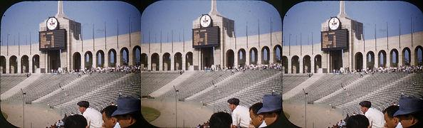 Colliseum Sports arena Los Angeles CA VM