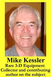 3-D Legends Hall of Fame Mike Kessler -y