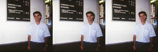 1991_05_07 Alain Maurraud at Bonnet Lab