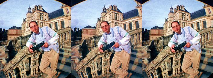 1991 David Burder in France taken with t