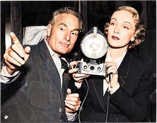 Paul Hesse  Marlene Dietrich from the co