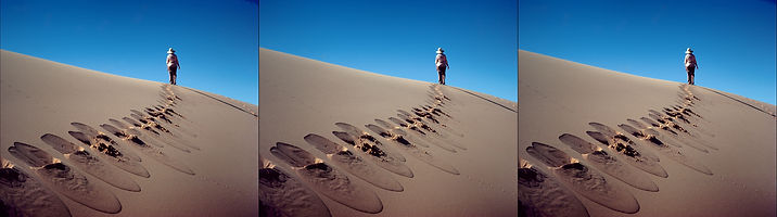 Footprints in the Sand of Time by Allan