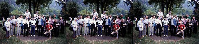 1985 Group shot at International Stereos
