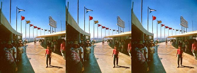1962 Dodger Station Los Angeles by Geoge