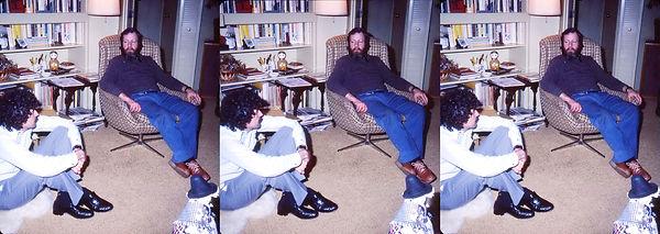 John Waldsmith and Peter Palmquist at Sm