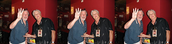 2006 Dan Symmes and Ray Zone at 3D Filmf