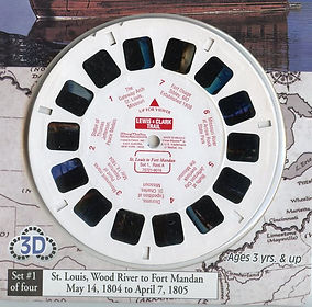 Lewis and Clark reels and book by Charle
