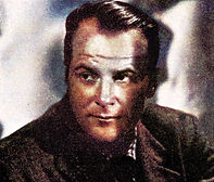 1953 John Meredith portrait-Colorized (1