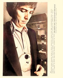 1976 Mike Kessler wearing Stirn detectiv