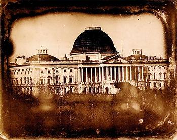 U.S. Capitol 1846 by John Plumbe Jr dag.