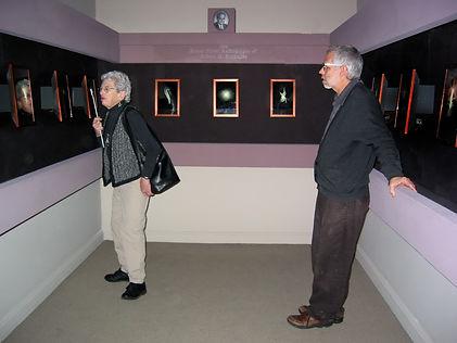 Vivian Walworth and David Wilson at his