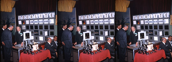 Photography Trade Show displaying the Id