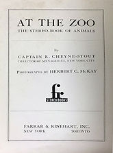 1937 At the Zoo inside page by HC McKay.