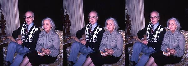Gordan and Helen Smith in their Monterey