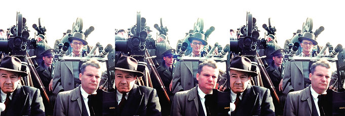 Eisenhower press photos with hyperstereo