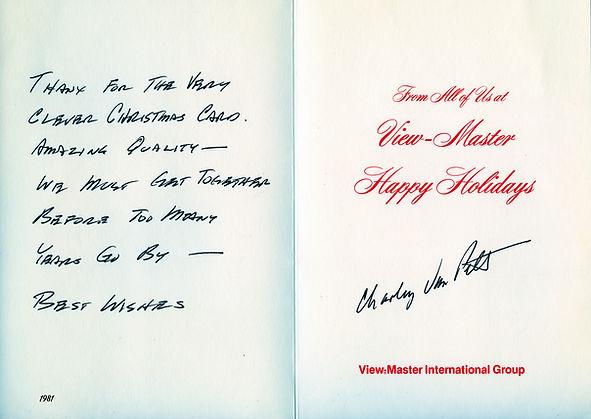 1981 Xmas card from Charley Van Pelt.jpg