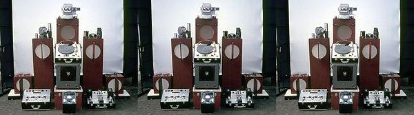 1969 HdW-1 projectie apparatuur  install