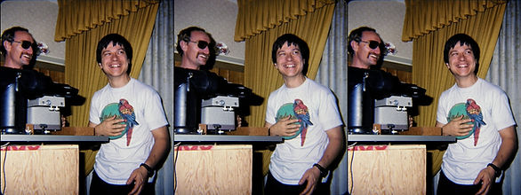 Tony Alderson 1983-84 & Tim Cardinale 19