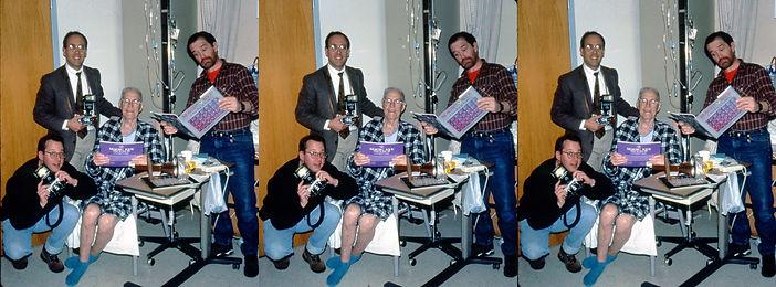 Jon Golden, Louis King, Paul Wing and Ro