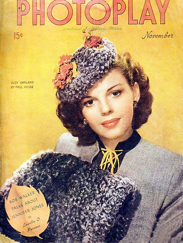 1944 Judy Garland magazine cover by Paul