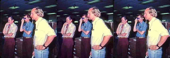 1982 John Rupkalvis David Hutchison and