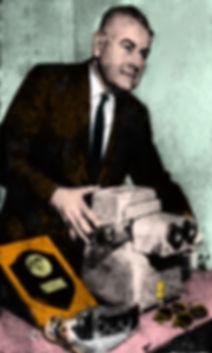 1960 Harold Lutes newspaper image colori