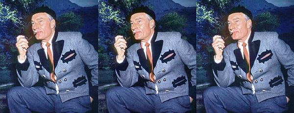 1953 Paul Hesse lenticular 3D photograph
