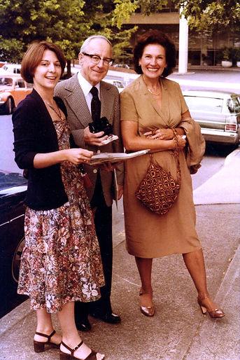 1978_Susan_Pinsky_Karl_Kurz_and_Norma_Gruber_outside_club_Portland_OR_by_Marilyn_Felling.J