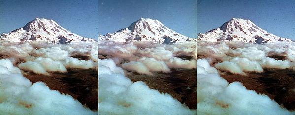 1951  Academy StereOscar- Mt Rainier by