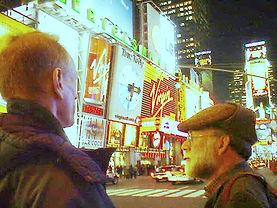 1999 Hutch and Starkman in NYC Dec by Su