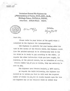 1957_04_26 McKay - Letter from India P.1