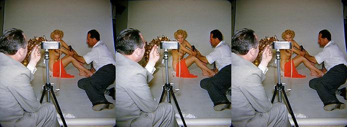 Harold Lloyd & John Meredith at artistic