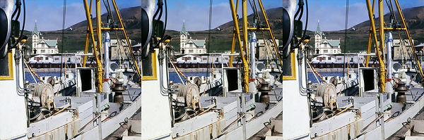 Ferwerda 348-5 1975 Husavik haven en ker