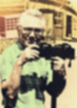 Charley van Pelt with his twin Konica 35