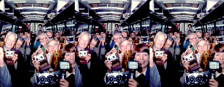 1983 ISU Buxton Bus Full of 3-D Nuts by
