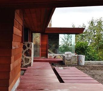 1941 Eaglefeather Frank Lloyd Wright designed house for Arch Oboler 2.jpg
