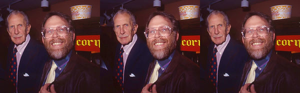 1990 House of Wax Vincent Price and Davi