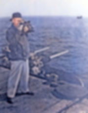 1955 William Gruber on the USS Hornet ai