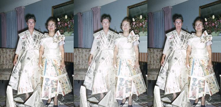 Jean Piper & Mrs Rosselot in newspaper d