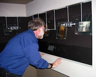 2002 Dec Vectograph exhibit at Mus of Ju