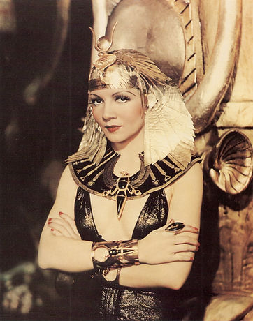 1934 Claudette Colbert In Cleopatra by P