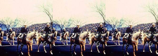 IkeParalIke Inaugural Parade with more men on horses.jpg
