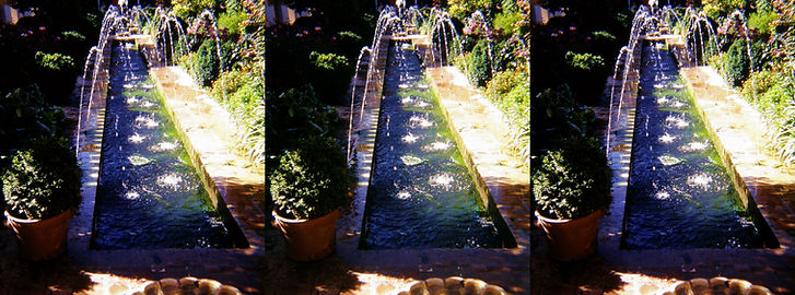 Spain Alhambra Fountain by Charlie Piper