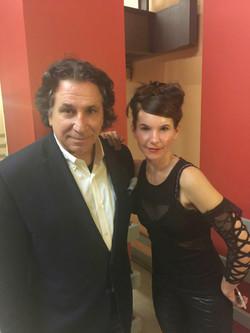 Richard with Lisa Pegh