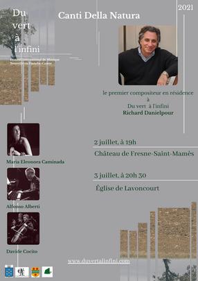 """Premiere of """"Canti Della Natura"""""""