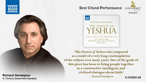 Passion of Yeshua wins GRAMMY for Best Choral Performance