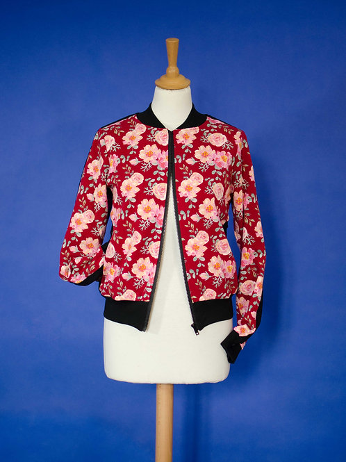 Bombers Edgar - Roses - Taille S