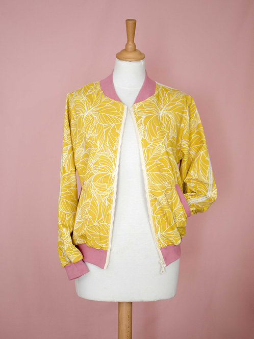 Bombers Edgar -Yellow jungle - Taille S