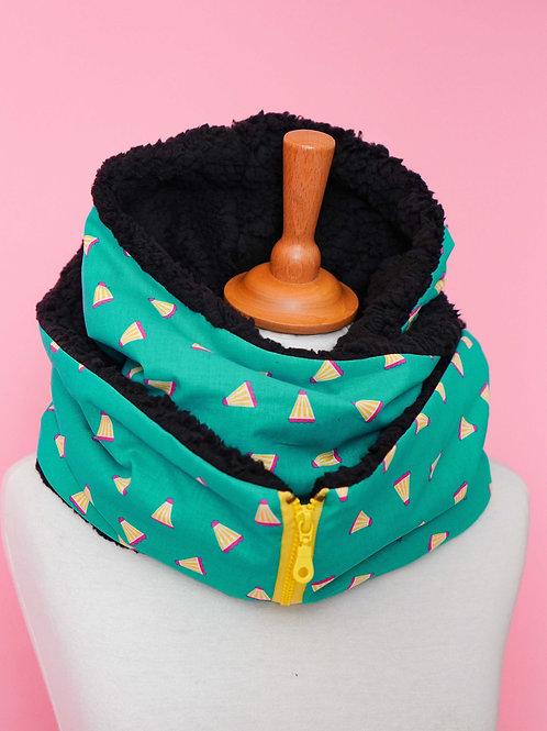 Echarpe capuche zippée - Badminton